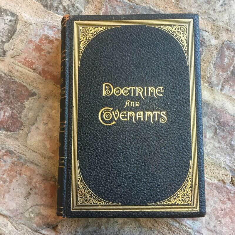 1891 Doctrine and Covenants Pulpit Edition