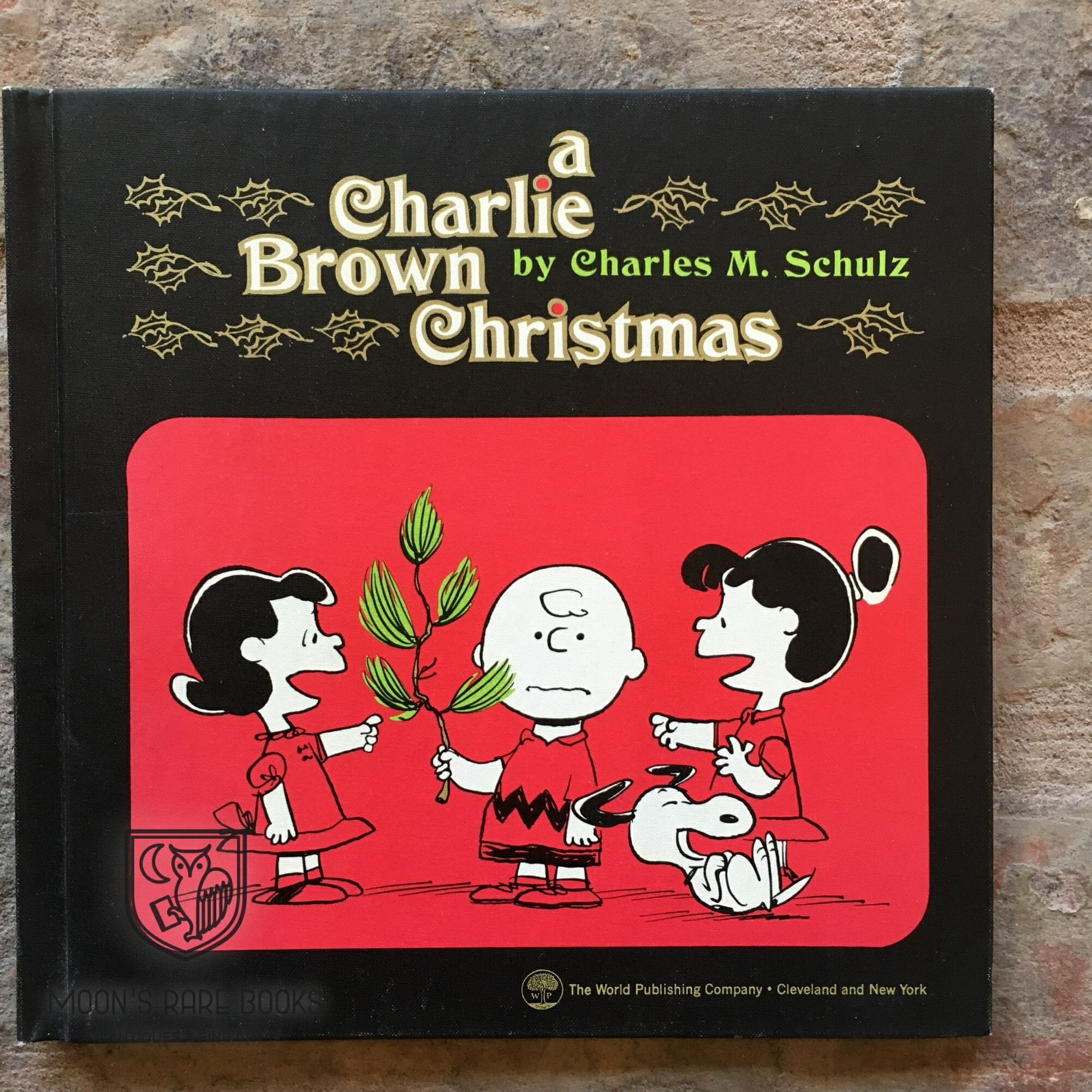 A Charlie Brown Christmas Book.A Charlie Brown Christmas Moon S Rare Books